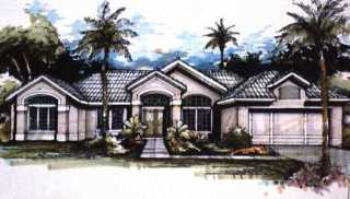 image of The Palmdale House Plan